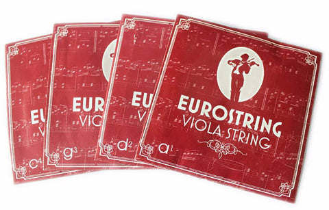 Buy Wholesale Quality Eurostring Brand Viola Silver Strings One Set
