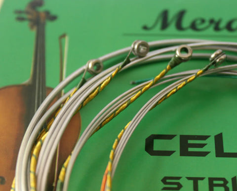 Buy Wholesale Professional Merano Brand Cello Steel Strings One Set