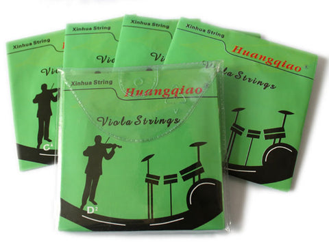 Buy Wholesale Professional Huangqiao Brand Viola Silver Strings One set