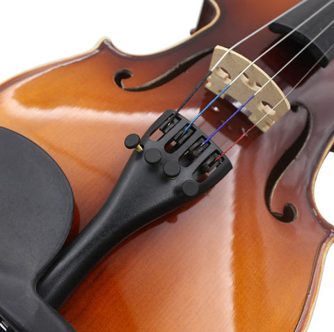 Buy Wholesale Professional Violin Aluminum Tailpiece with Fine Tuners