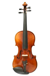 Model SRV1001 Professional Solid Spruce & Ebony Tiger Stripe Violin Different Sizes with Accessories