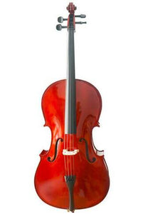 Buy Wholesale Stringman® Model SRC1002 Beginner Level Solid Spruce & Maple Tiger Stripes Cello Different Sizes with Accessories