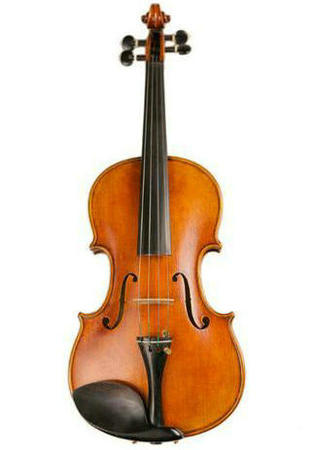 Premium Quality European Material Retro Style Golden Color Violin Different Sizes with Accessories