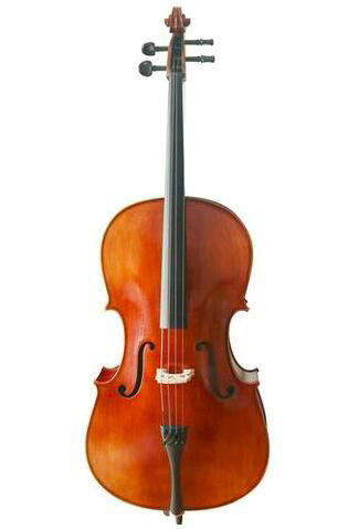 Buy Wholesale Stringman® Model SRC1003 Professional Level Solid Spruce & Ebony Cello Different Sizes with Accessories