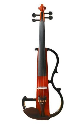Buy Wholesale Professional Level Piano Lacquer Coated Electric Violin with Accessories