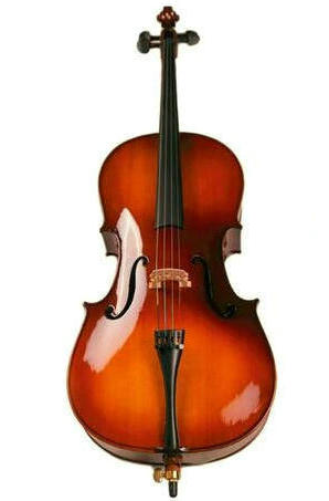 Professional Solid Spruce & Maple Bright Painting Cello Different Sizes with Accessories