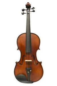 Model SRV1004 Professional Solid Spruce & Ebony Made Tiger Stripe Violin Different Sizes with Accessories