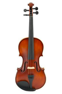 Model SRV1003 Professional Korean Type Solid Wood & Ebony Matte Painting Violin Different Sizes with Accessories