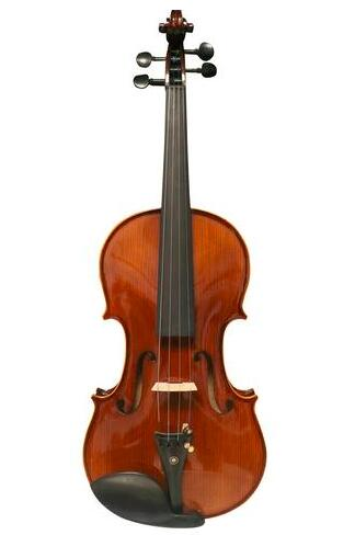 Buy Wholesale Concert Grade Solid Spruce & Ebony Made Whole Piece Back Violin Different Sizes with Accessories