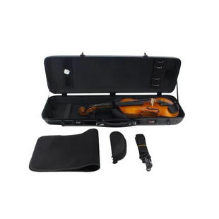 Buy Wholesale Premium Quality Carbon Fiber Square Violin Case with Hygrometer