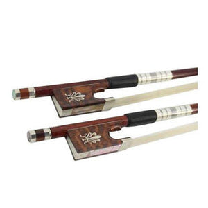 Wholesale High Quality Wood Veneer Snakewood & Carbon Fiber Violin Performance Round Bow