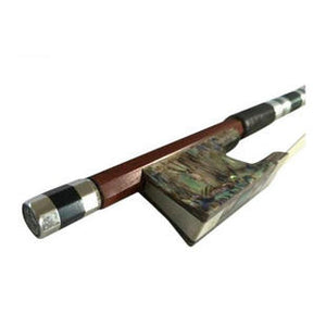 Wholesale High Quality Abalone Stripes Ebony & Brazilian Wood Cello Performance Round Bow