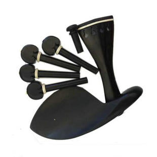 Wholesale Professional Violin Ebony Accessories One set
