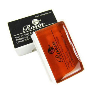 Wholesale Common Use Natural Leto Brand Violin Black Rosin