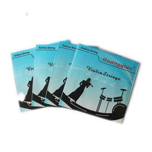 Wholesale Quality Huangqiao Brand Violin Silver Strings One set