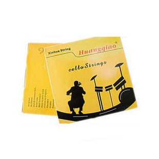 Wholesale Professional Huangqiao Brand Cello Steel Strings One Set