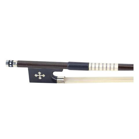 Wholesale Quality Grid Type Carved Ebony & Carbon Fiber Violin Performance Round Bow