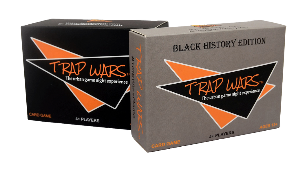 Trap Wars® + Black History Edition Value Pack