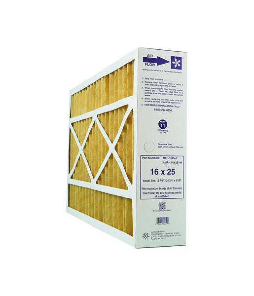 MJ Brunin MFH-1625-4 Furnace Filter