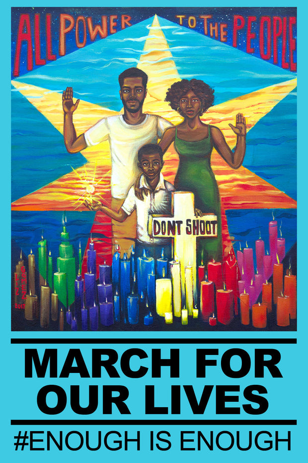 """Art for Our Lives"" Protest Poster -- ""The Family"" (15,000 Posters)"