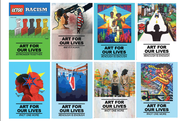 Art For Our Lives Postcard Pack