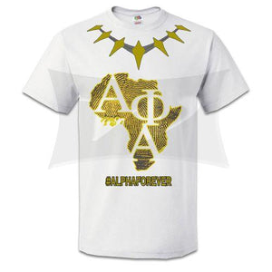 Alpha Forever Wakanda Themed T-shirt