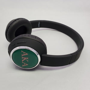 Alpha Kappa Alpha wireless headphones