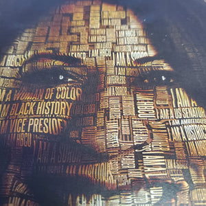 I am Kamala Harris collage tee
