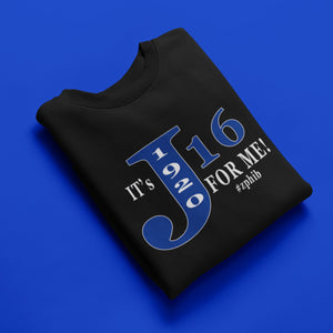 It's J16 for me (Zeta Phi Beta)