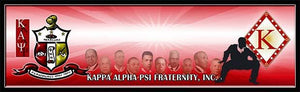 Kappa Alpha Psi Custom Print with Frame