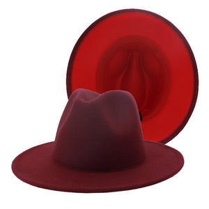 Maroon/Red Fedora