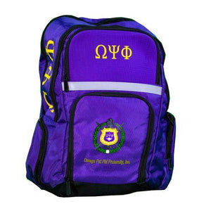 Omega Psi Phi Back Pack