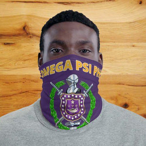 Omega Psi Phi Face Mask Neck Gaiter