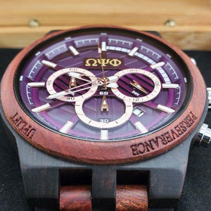 Omega Psi Phi Redwood Watch