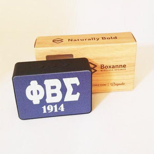 Phi Beta Sigma Bluetooth Speaker