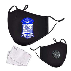 Phi Beta Sigma Respirator Face Mask