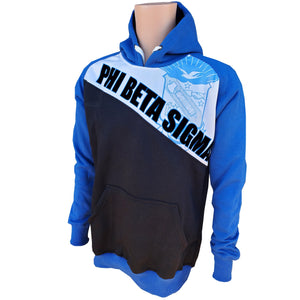 Phi Beta Sigma Slim Sublimated Hoodie