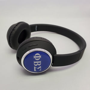 Phi Beta Sigma wireless headphones