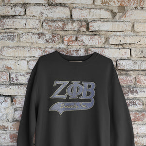 Zeta Phi Beta Bling Letters Sweatshirt