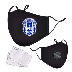 Zeta Phi Beta Respirator Face Mask