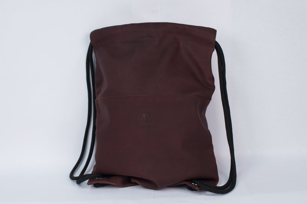 Dark Brown Drawstring