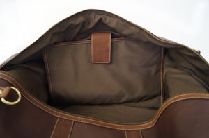 Dark Brown Weekender Bag