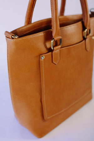 Venture Leather Co Shoulder Bag Tan Shoulder Bag
