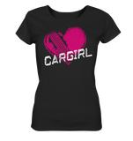 Cargirl_Heart Ladies Organic Shirt