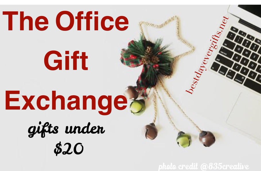 HOLIDAY GIFT GUIDE - The Office Gift Exchange; Gifts Under $20