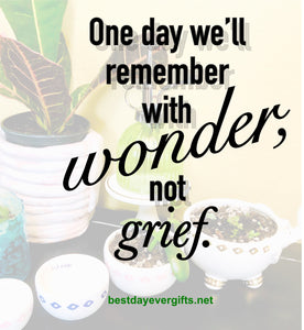 Wonder In Grief