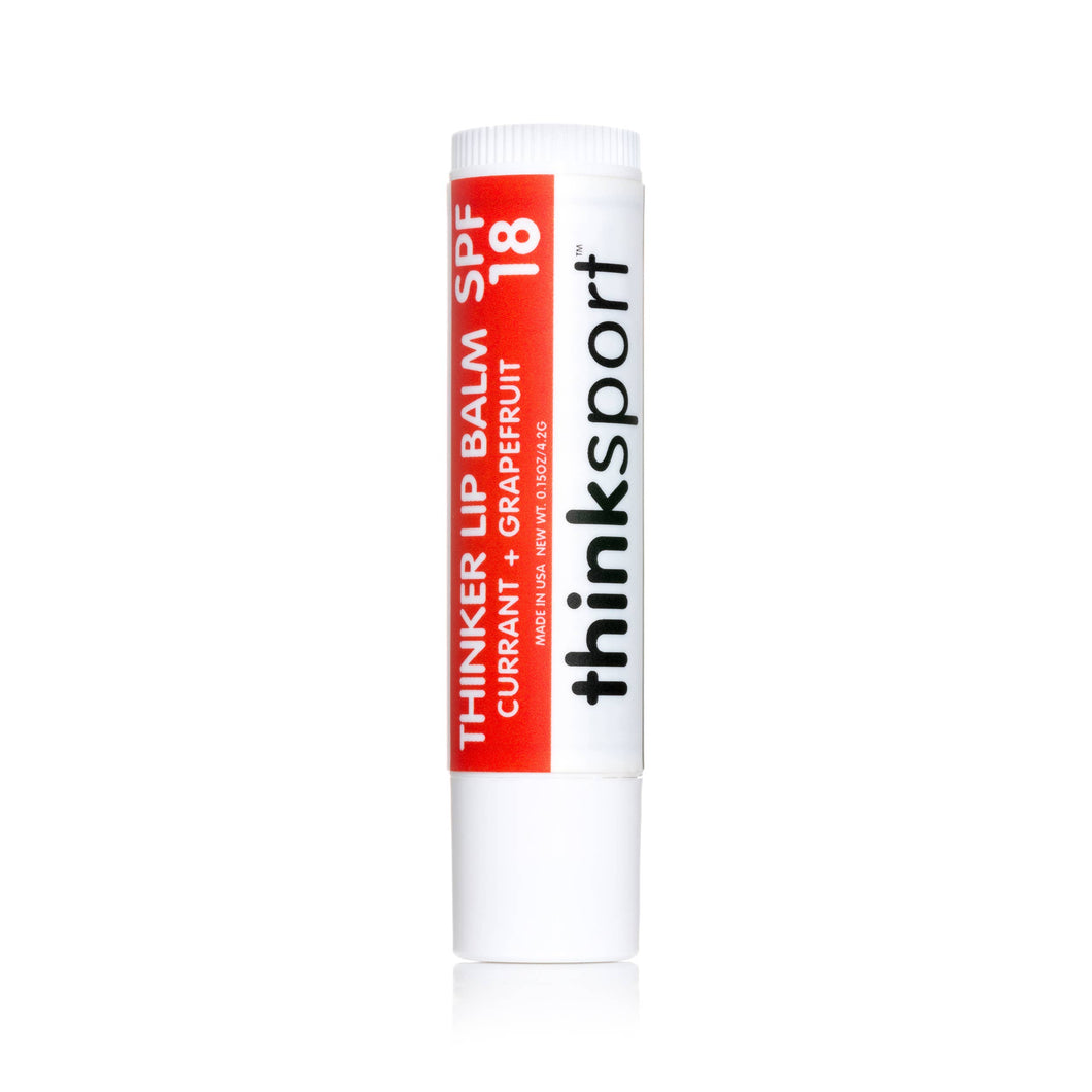 Thinksport Lip Balm SPF 18: Currant and Grapefruit