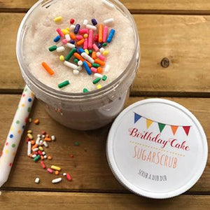 Birthday Cake Sugar Scrub 4oz
