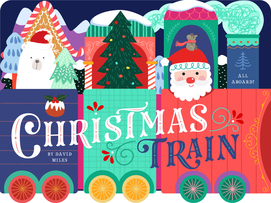 Christmas Train Children's Book
