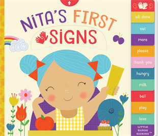 Baby Book- Nita's First Signs